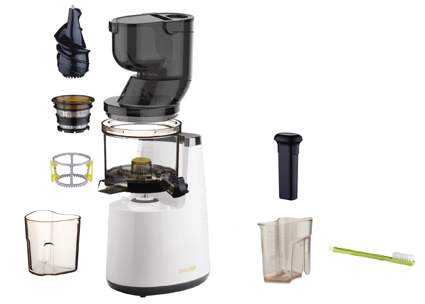 Biochef Atlas Whole Slow Juicer Vs Kuvings : Wyciskarka BioChef Atlas Whole W4 Slow Juicer Jednoslimakowe - Energia Zdrowia
