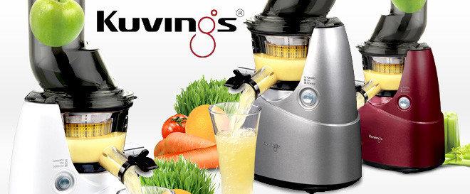 Wyciskarka Kuvings Whole Slow Juicer Big Mouth B6000 : Wyciskarki do naturalnych i zdorwych sokow z owocow i warzyw